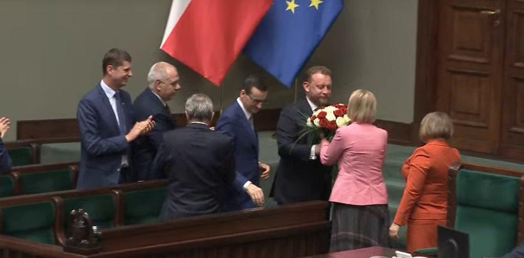 Głosowanie nad wotum niefunosći wobec Łukasza Szumowskiego