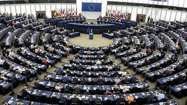 12.09.2018 r., Strasburg, wystąpienie Jean-Claude Junckera przed Parlamentem Europejskim