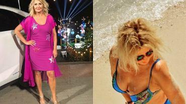 Seksowna Majka Jeżowska pozuje w bikini na plaży 'Love my life'