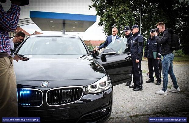 Nowe radiowozy dolnośląskiej policji
