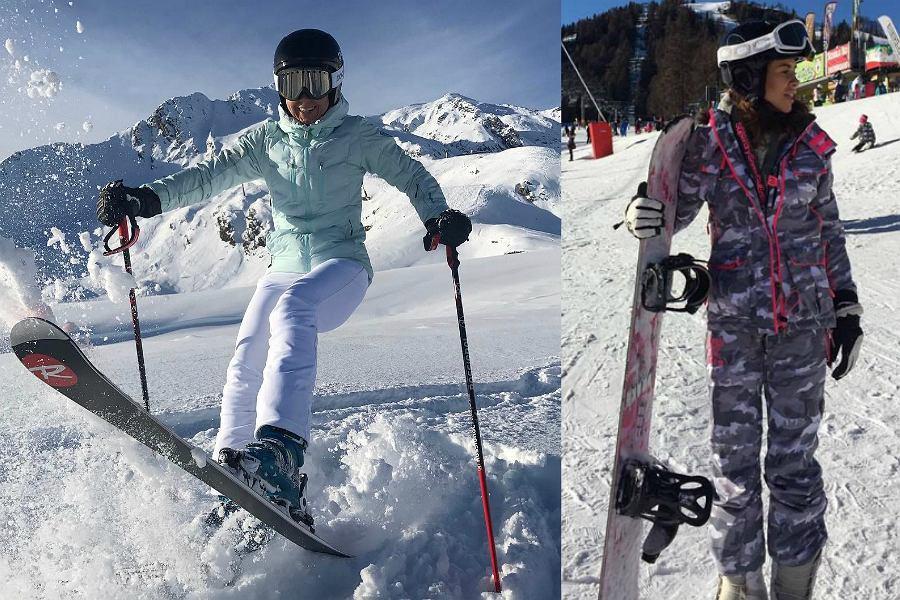odzież narciarska