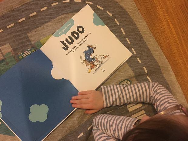 'Judo, nie tylko dla dzieci', napisali Krzysztof i Bogusław Wiłkomirscy, narysował Jarek Kajdana