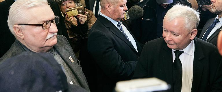 Wyrok w procesie Kaczyńskiego z Wałęsą.