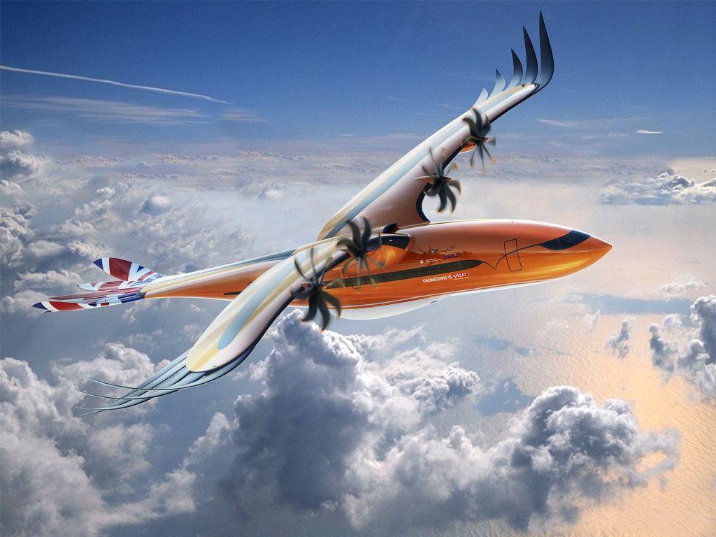'Bird of Prey' firmy Airbus, nowy koncept inspirowany drapieżnymi ptakami