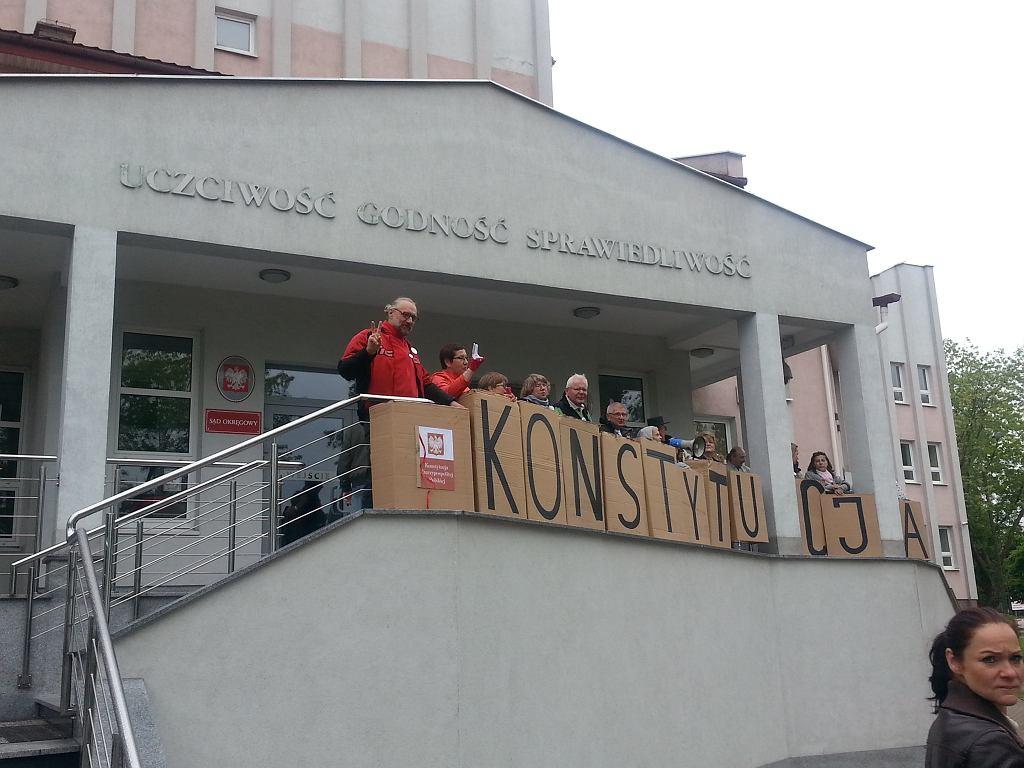 Ponowny proces działaczy KOD w Suwałkach