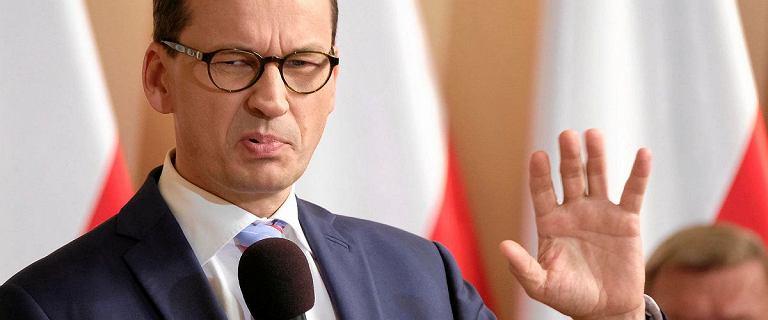 Morawiecki zarzuca PO zabranie środków z OFE. PiS sięga po nie chętniej