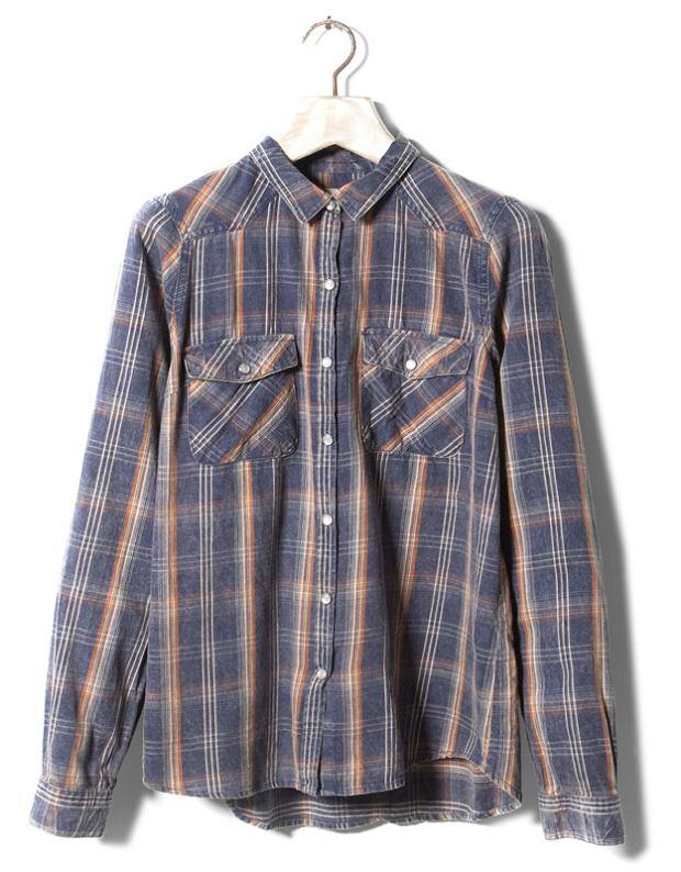 Koszule w kratę w grunge'owym stylu do 200 zł ponad 60