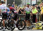 Kraksa na Tour de Pologne. Kolarze musieli wycofać się z wyścigu