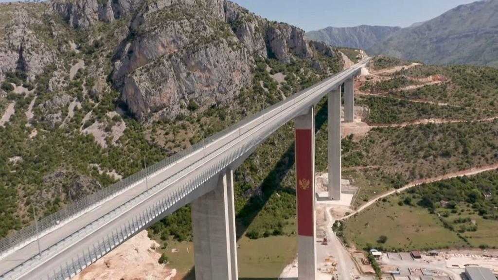 Kontrowersyjna droga w Czarnogórze z Bar do serbskiej granicy