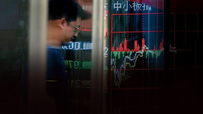 Spadki na chińskiej giełdzie po cięciu ratingu przez Moody's