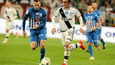 Legia Warszawa - Lech Poznań 2:1. Miroslav Radović i Tomasz Kędziora