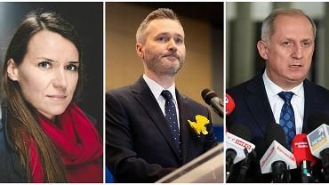 Wybory parlamentarne 2019. Agnieszka Pomaska, Jarosław Wałęsa i Sławomir Neumann