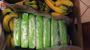 Kokaina w bananach. Co udało się ustalić policjantom do tej pory?