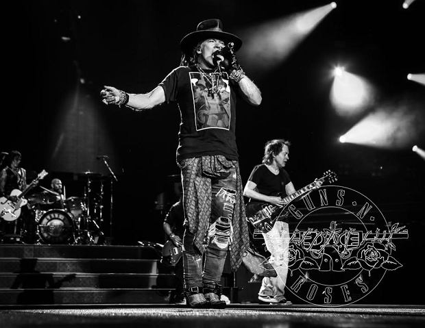 Guns N' Roses w Hanover
