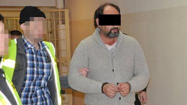 Arkadiusz Ł., 'Hoss', jeden z członków szajki okradającej seniorów z Europy Zachodniej