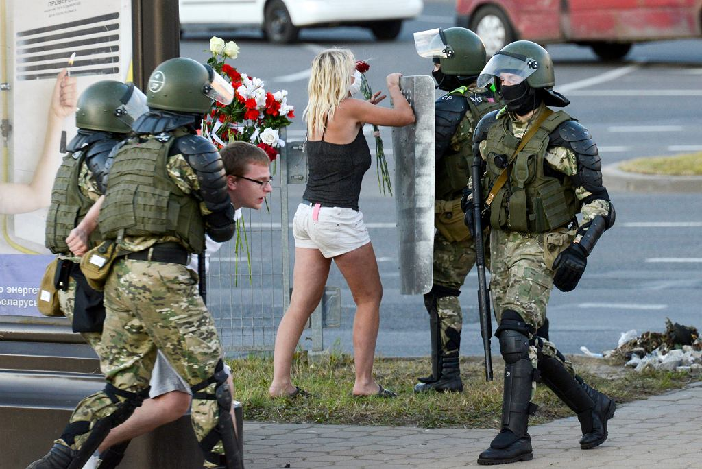 Protesty po wyborach na Białorusi