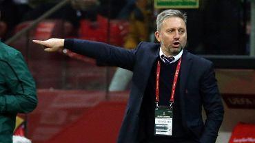 Ο Jorge Brazakjek στον τελικό αγώνα των προκριματικών Euro 2020 Πολωνία - Σλοβενία