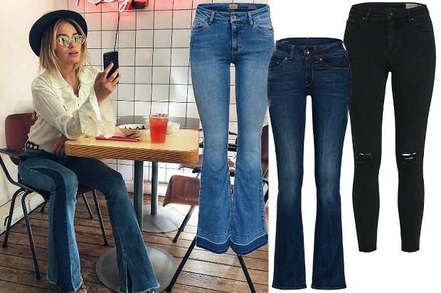 jeansy na jesień