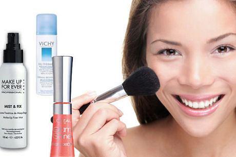 Utrwalanie letniego makijażu