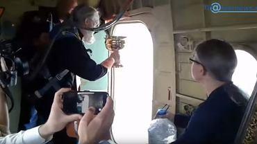 Rosyjskie miasto oblali 70 litrami wody święconej. Żeby ustrzec ludzi przed alkoholizmem i cudzołóstwem