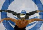 Polscy olimpijczycy ścigali się na pływalni na Termach Maltańskich