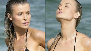 Joanna Krupa jest posiadaczką naprawdę doskonałego ciała, które chętnie eksponuje w kusych kreacjach. Ostatnio modelkę sfotografowano, gdy wypoczywała w Oceanie Atlantyckim w Miami. Jej wygląd robił piorunujące wrażenie! Swoje smukłe, wysportowane ciało gwiazda podkreśliła seksownym, skąpym bikini z koralikowymi zdobieniami. Zobaczcie, jak wyglądała!