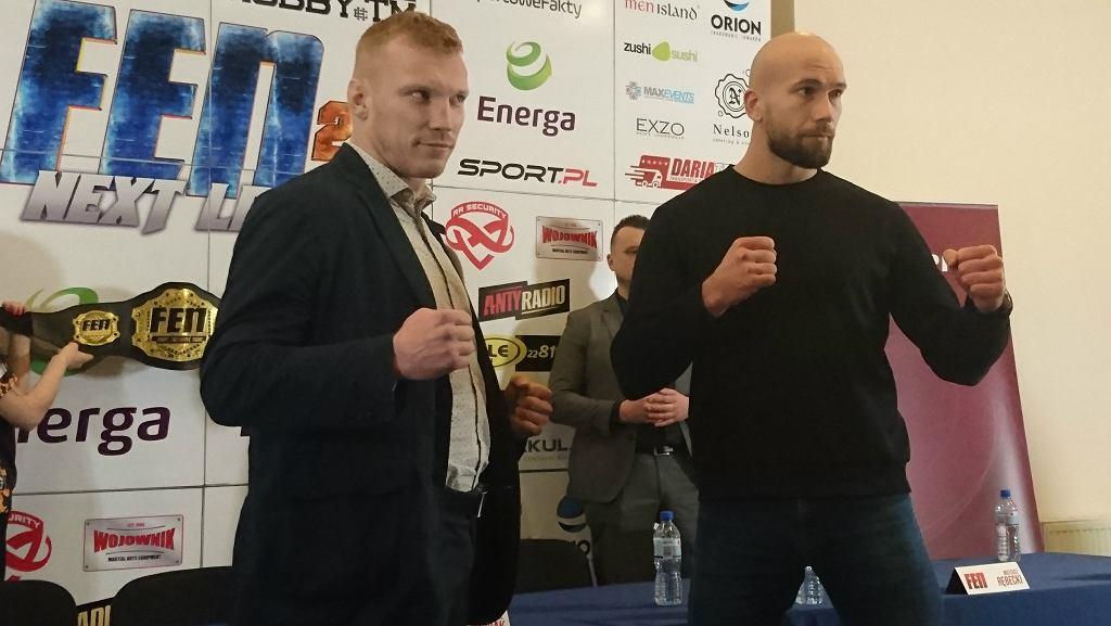 Zawodnicy FEN 20 Zaniewski i Paczuski