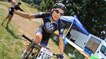 Michał Ficek z Volkswagen Samochody Użytkowe MTB Team