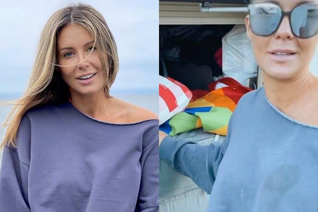Małgorzata Rozenek pokazała szafę w kamperze