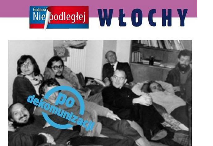 Fragment broszury Polskiej Fundacji Narodowej