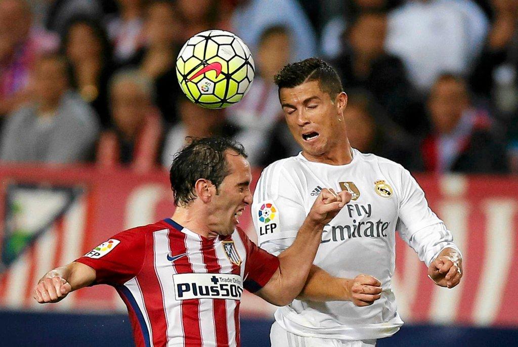 Cristiano Ronaldo i Diego Godin