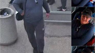 Policja poszukuje tego mężczyzny. Uderzył w twarz dziecko na przystanku w Rzeszowie