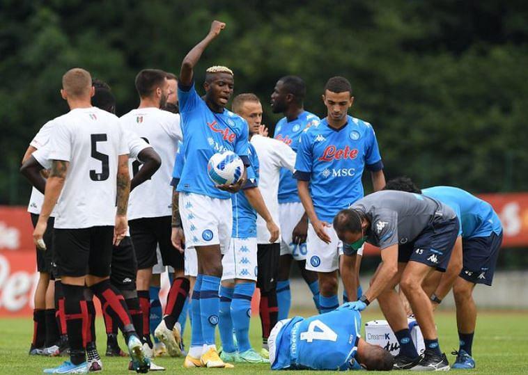 Poważna kontuzja i długa przerwa pomocnika Napoli. Spalletti ma problem