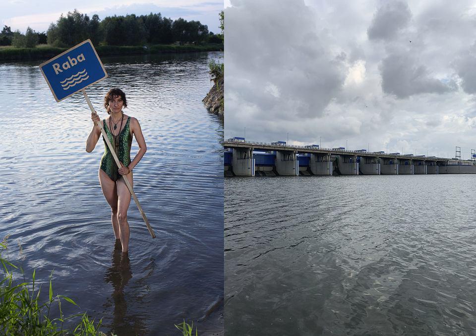 Anna Górka nie zgadza się na uprzemysławianie rzek (obok, na zdjęciu zapora wodna na Wiśle we Włocławku)