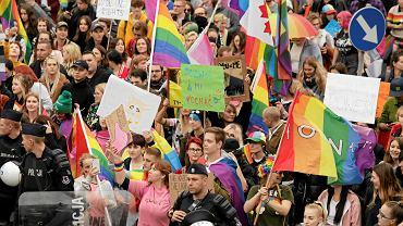 Wrzesień 2019. Toruński Marsz Równości