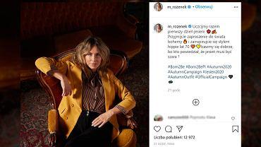 Małgorzata Rozenek odpowiada na zaczepkę fanki