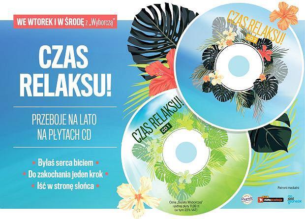 'Czas relaksu' - płyta CD