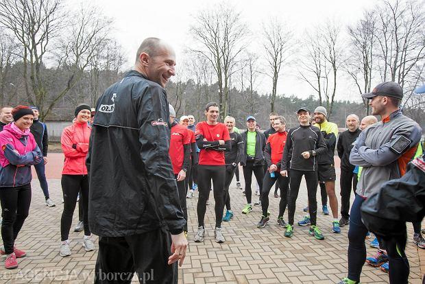 23.03.2014 Gdynia . Trening przed Warsaw Orlen Marathon . Fot. Dominik Sadowski / Agencja Gazeta