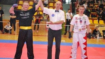 Reprezentanci Akademii Sportów Walki Knockout Zielona Góra na mistrzostwa Polski w Lesznie