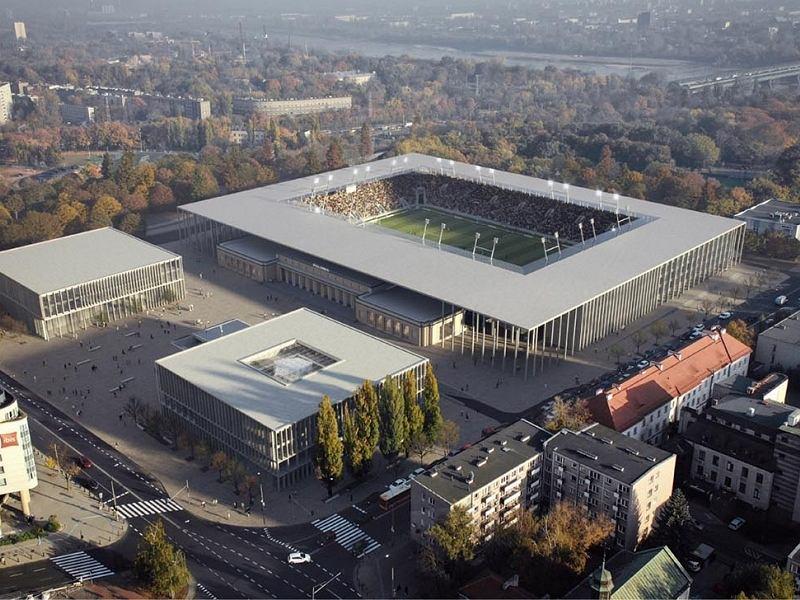 Projekt stadionu Polonii Warszawa - JSK Architekci sp. z o.o.