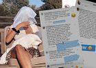 """Aleksandra Żebrowska pokazała komentarze dotyczące karmienia piersią. """"Ludzie nie mają ochoty oglądać waszych piersi"""""""