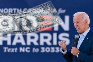 """Paradoks bogatego dłużnika, czyli dlaczego """"dollar is king"""" i głosowałby na Joe Bidena?"""