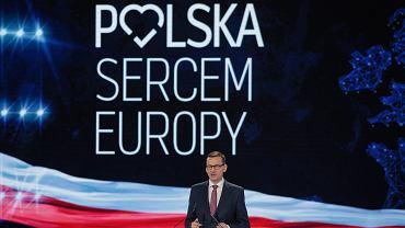 Przemawia premier Mateusz Morawiecki