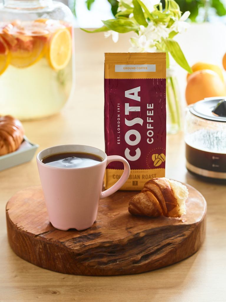 Costa Coffee wprowadza do sprzedaży kawę w wersji do domu