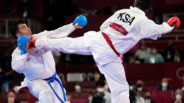 Nokaut i utrata przytomności. Karateka z Iranu mimo to zdobył złoty medal