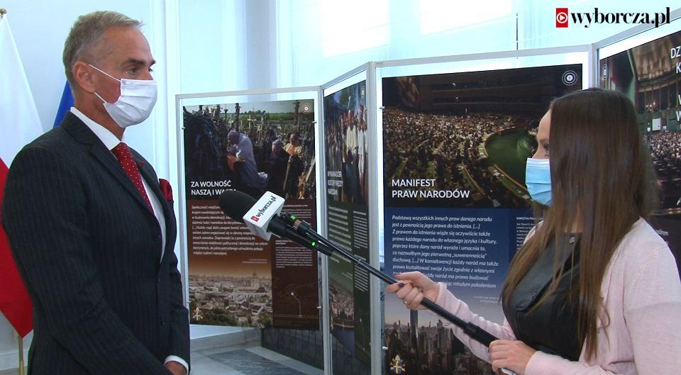 Senator PiS Jan Maria Jackowski odnosi się do słów Ryszarda Terleckiego o możliwym wyrzuceniu go z klubu PiS