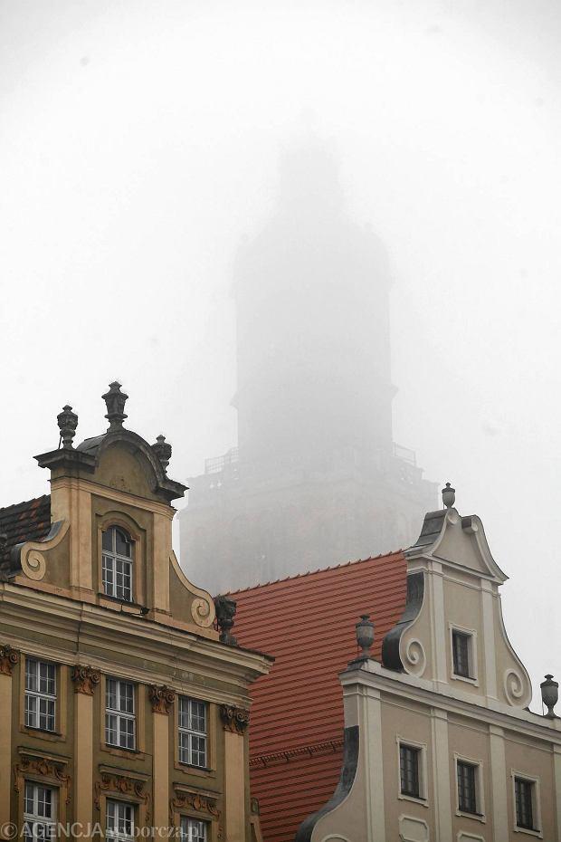 Zdjęcie numer 0 w galerii - Wrocław utonął we mgle. Tak wyglądał rano [ZDJĘCIA]
