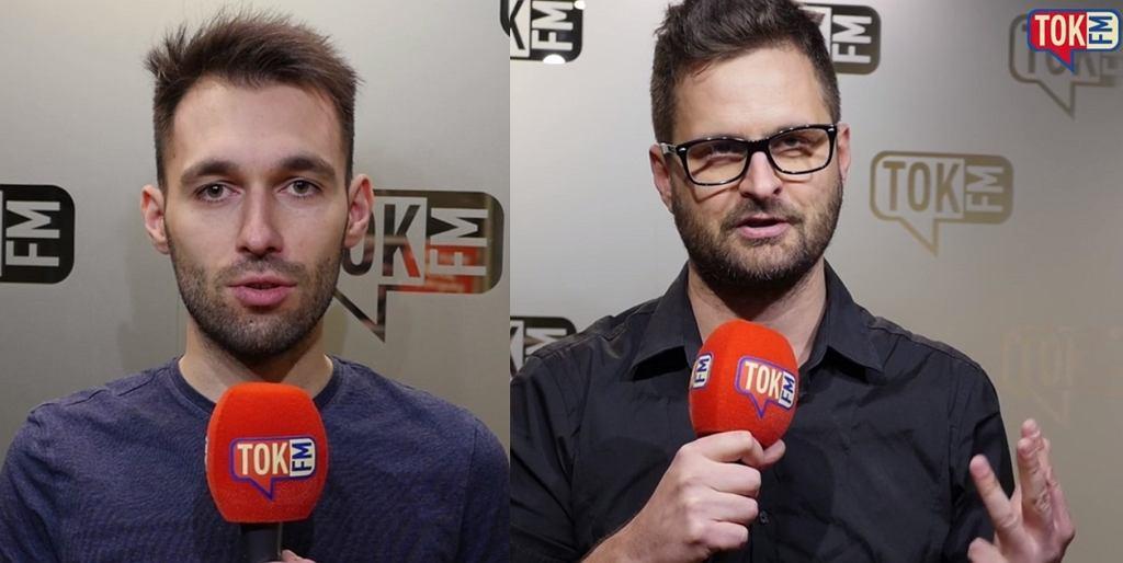 Mateusz Warianka i Przemysław Pozowski