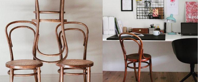 Krzesła do jadalni w stylu Thonet