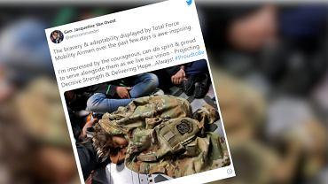Siły Powietrzne Stanów Zjednoczonych publikują zdjęcie z ewakuacji w Afganistanie